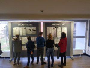 """Učenici VI i VII razreda su danas posjetili Udruženje """" 1. Slavna —111. Viteška brigada""""."""