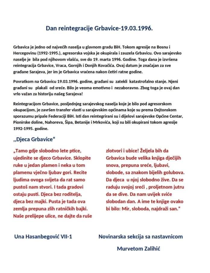 REINTEGRACIJA GRBAVICE – 19.3
