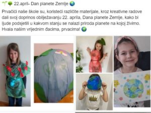 22.april-Dan planete Zemlje