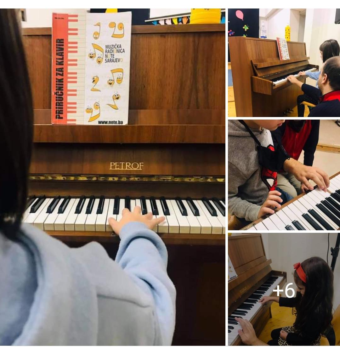 Produženi boravak- Muzička sekcija
